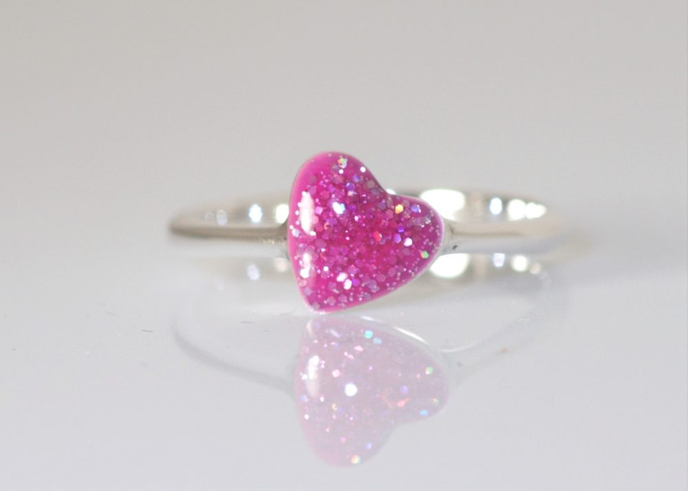 Crystallure-Heart-Ring-Silver-Pink