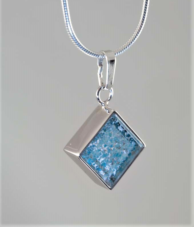 Crystal-Square-Necklace-Silver-Blue
