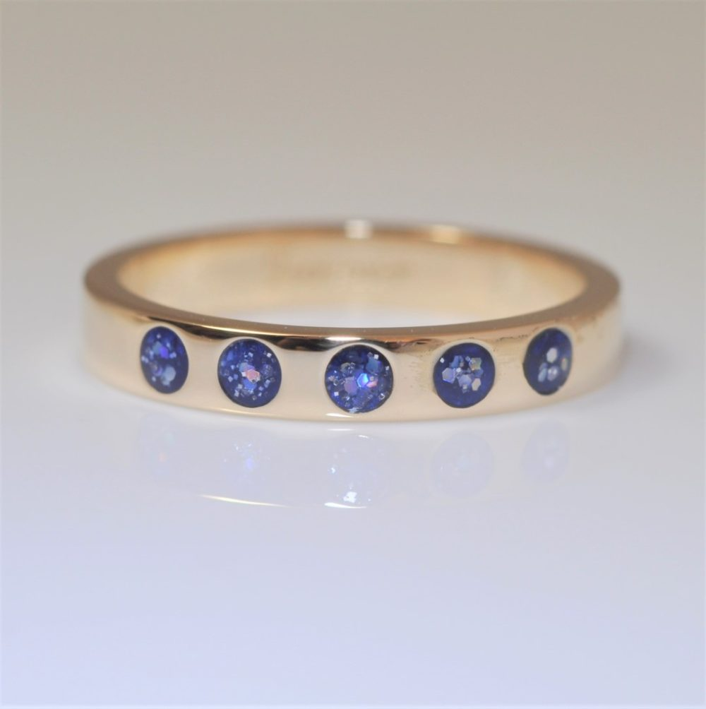 Crystallure-5-stone-Eternity-Ring-Blue