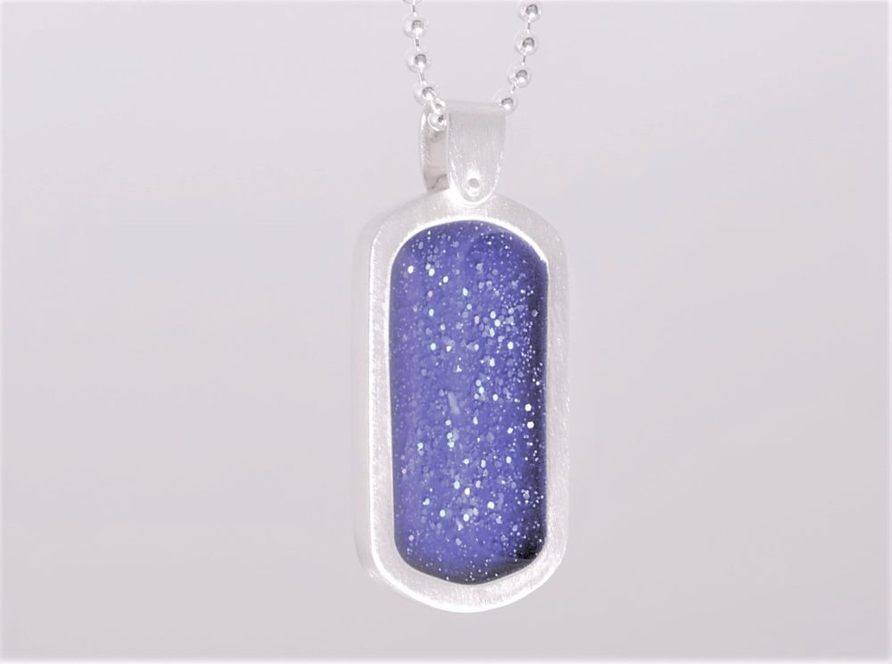 Crystallure-Dog-Tag-Necklace-Blue