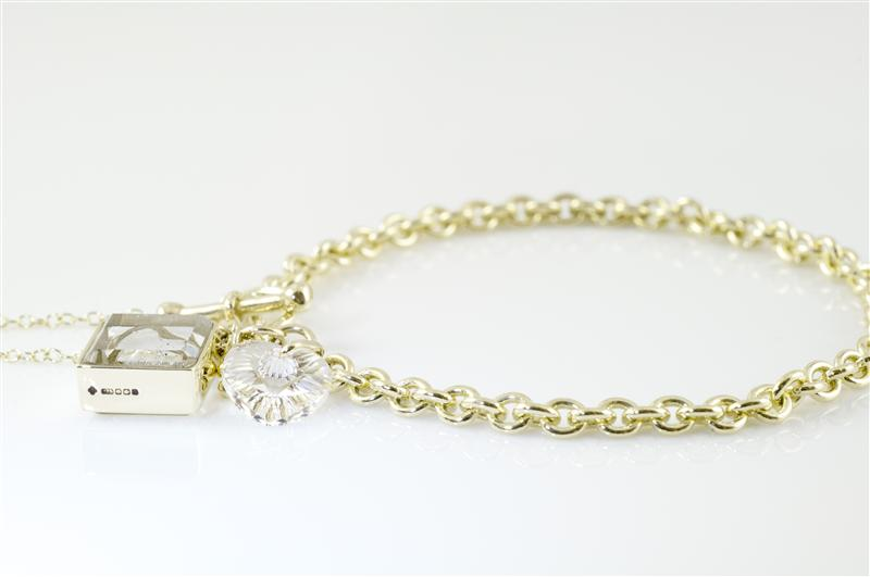 ashes-in-jewellery-charm-bracelet-gold